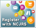 graphic - links to Register with NCJRS