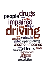 Impaired driving topical words