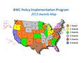 Map of Body-worn Camera Pilot Program Awards