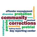 Community Corrections word image-logo
