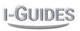 I-Guide logo - decorative