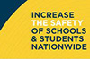 Increase the safety of schools and students nationwide